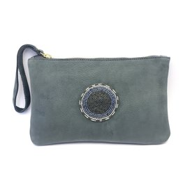 Maisha.Style Laikipia purse - mouse grey