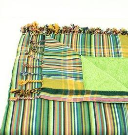 Maisha.Style Kikoy towel - stripey green