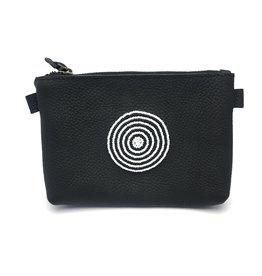 Maisha.Style Maisha purse - black & white