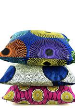 Maisha.Style Wax fab cushion cover - multi color