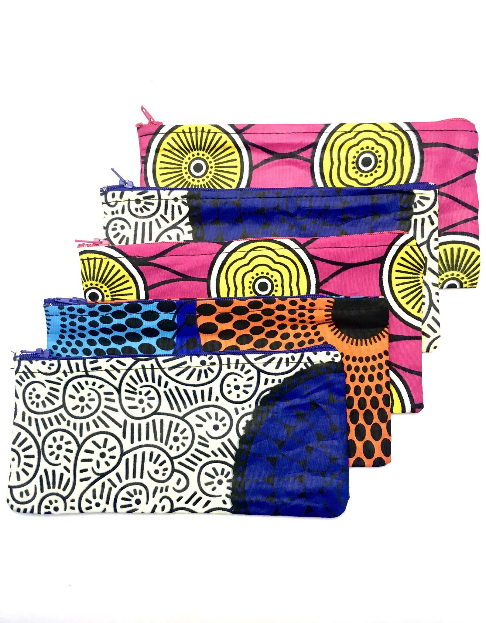Maisha.Style Wax fab pouch - cartoon