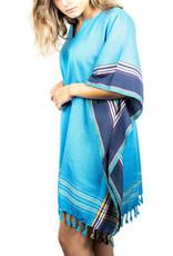 Maisha.Style Kikoy dress - blue
