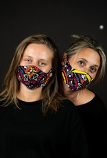 Maisha.Style Face mask - funky times