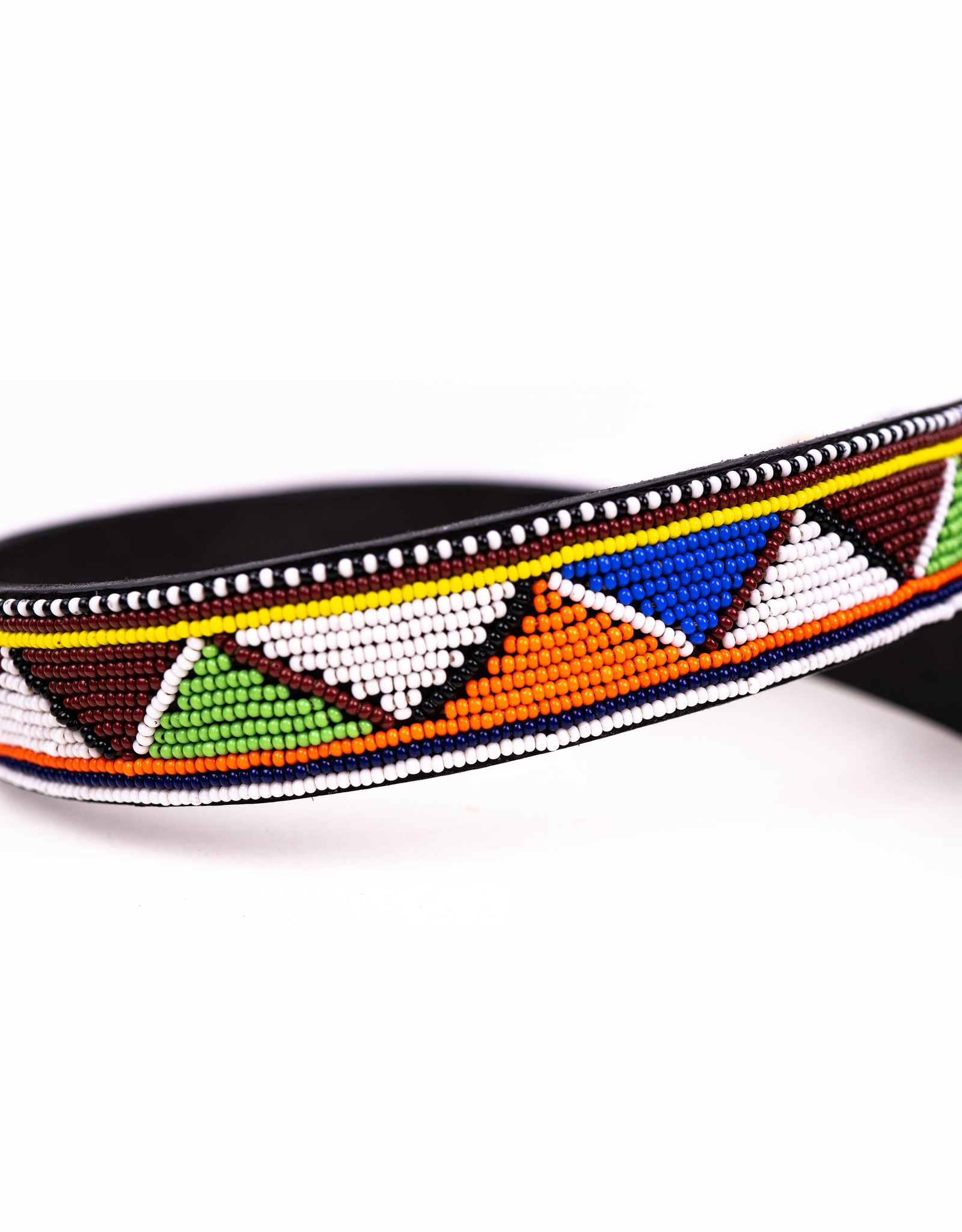 Maisha.Style Belt for Tatu - Masai with black dots