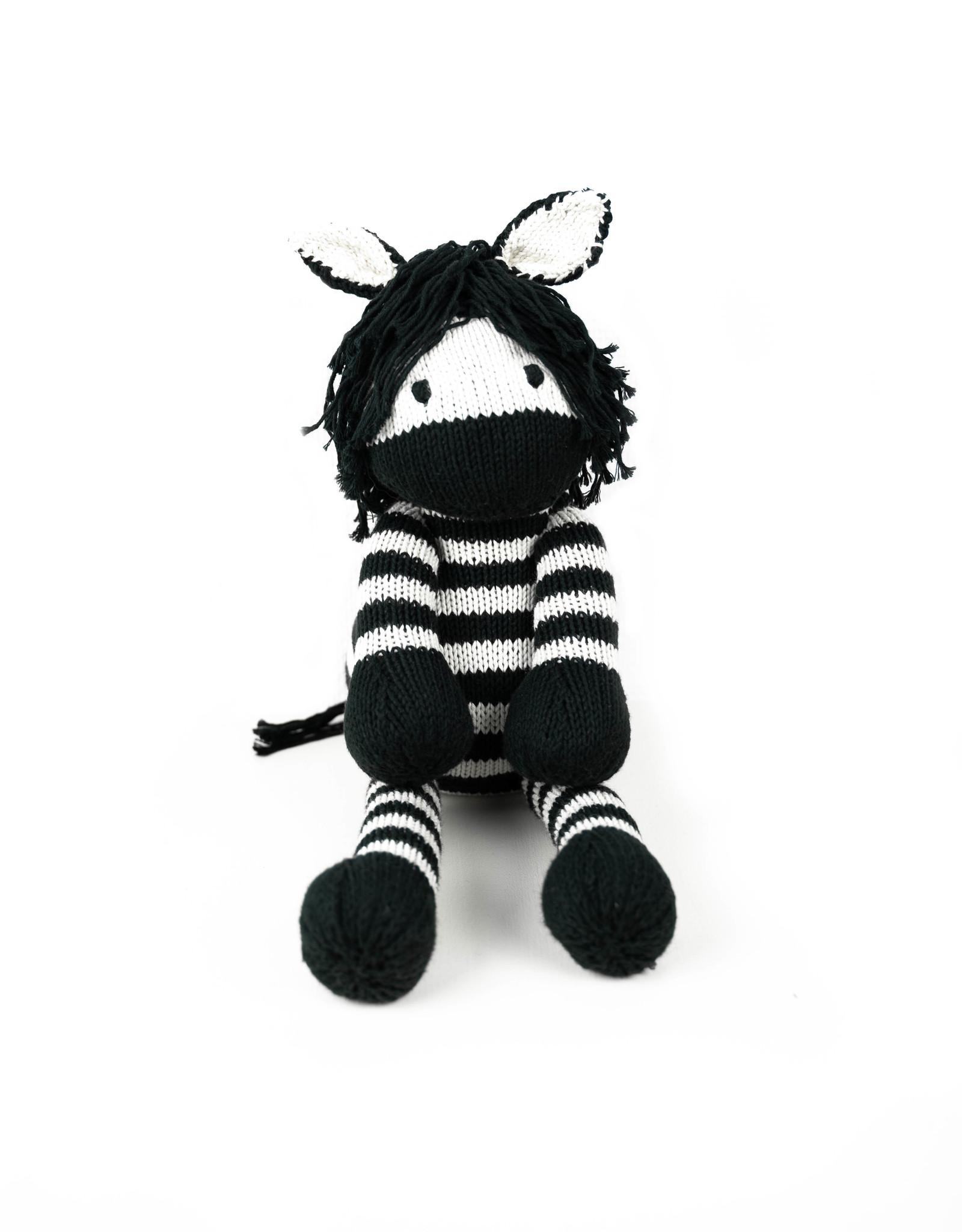 Kenana Knitters Cuddly Zebra