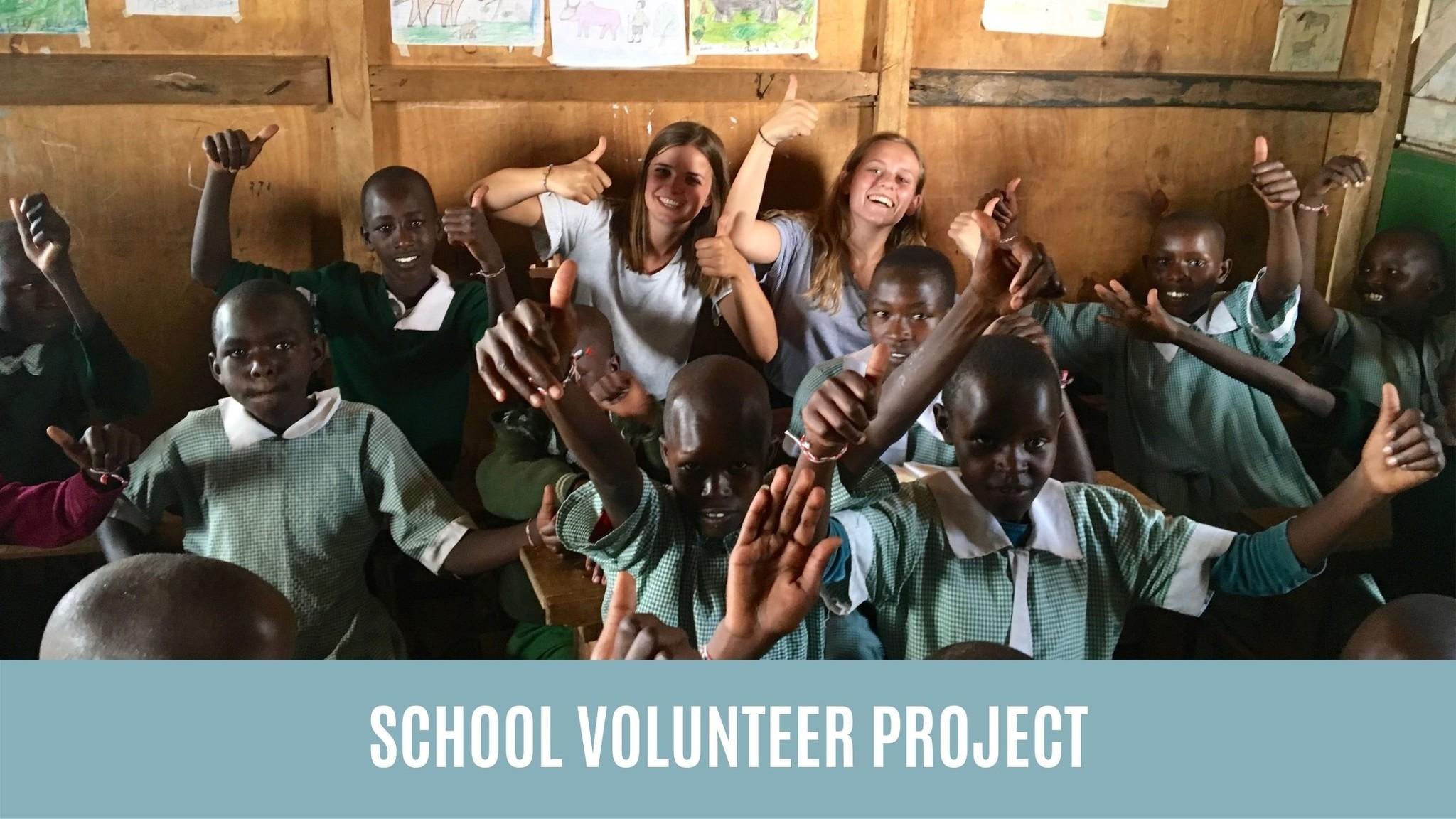 School volunteer project
