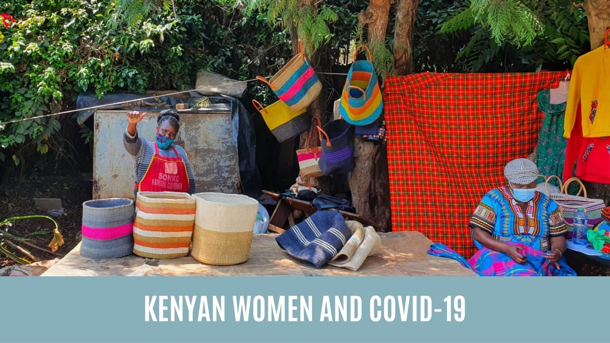 KENYAN WOMEN AND COVID-19