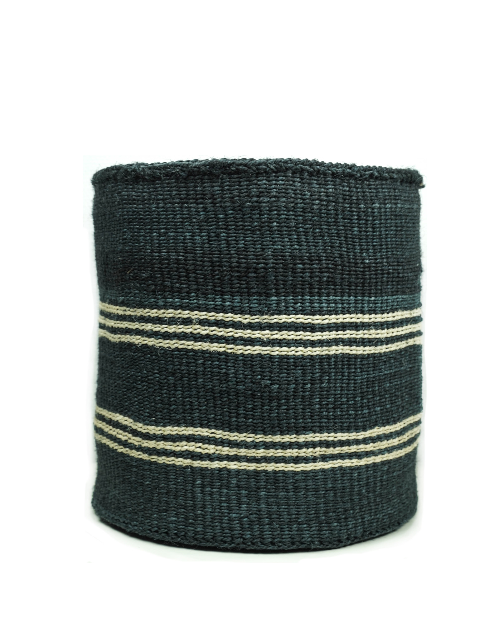 Maisha.Style Taita basket - marine & ivory - XL3