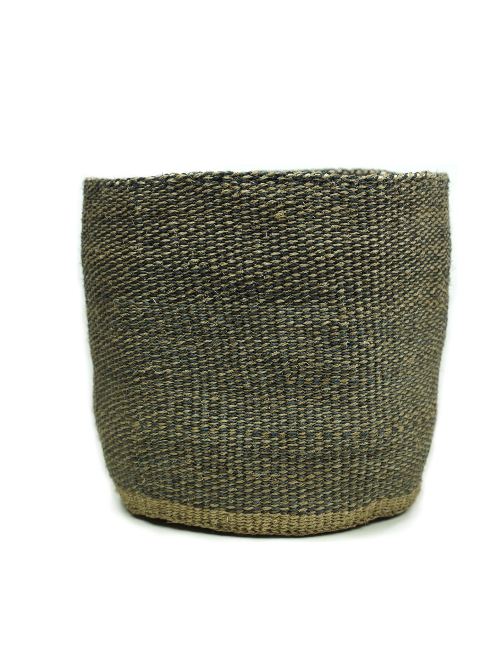 Maisha.Style Taita basket - dark tones - M/L4