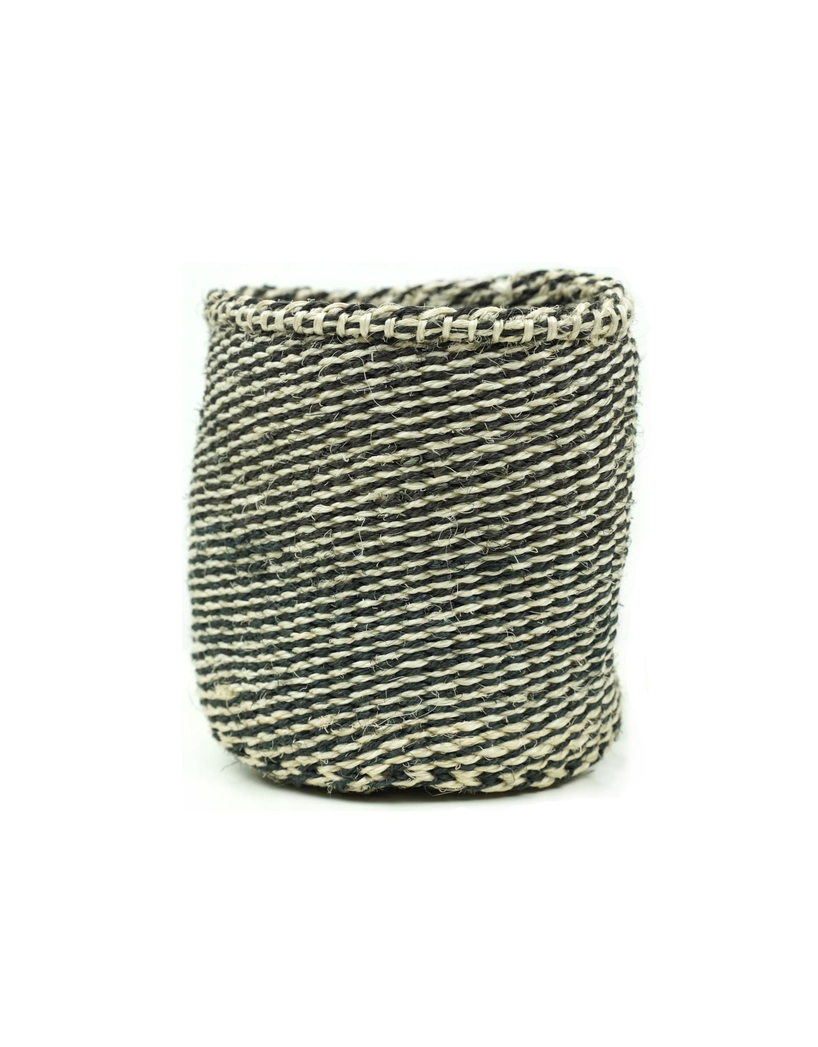 Maisha.Style Taita basket - black & ivory - S3