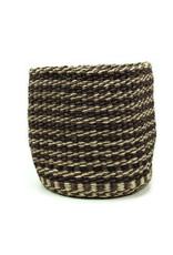 Maisha.Style Taita basket - black brown & ivory - S5