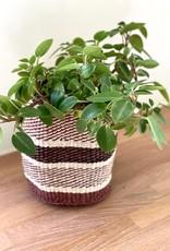 Maisha.Style Taita basket - black brown & ivory - S13
