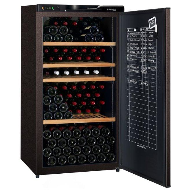 Climadiff CLA210A+ wijnbewaarkast - 1 zone - 196 flessen
