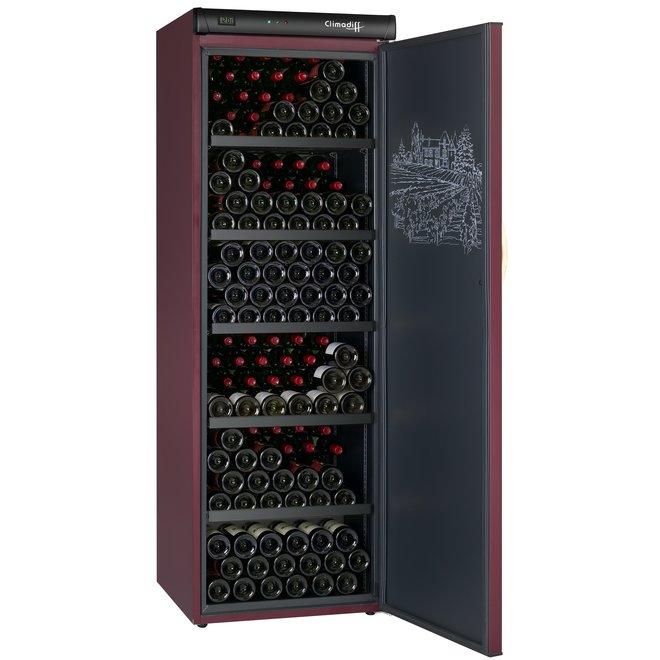 Climadiff CVP265 wijnbewaarkast - 1 zone - 264 flessen