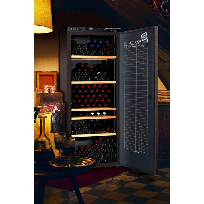 Climadiff CLA310A+ wijnbewaarkast - 1 zone - 294 flessen
