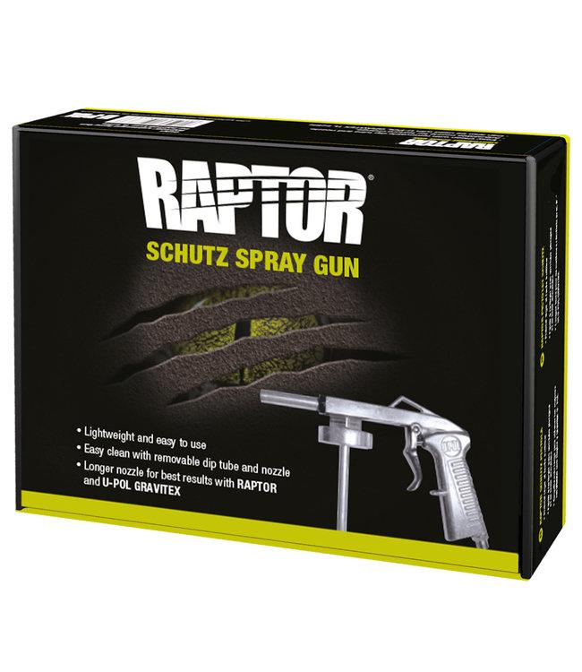 Spuitpistool voor Raptor Liner en Gravitex