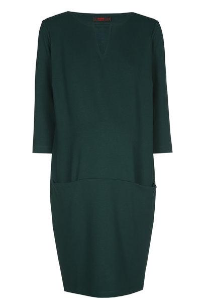 Cool dress - dark green