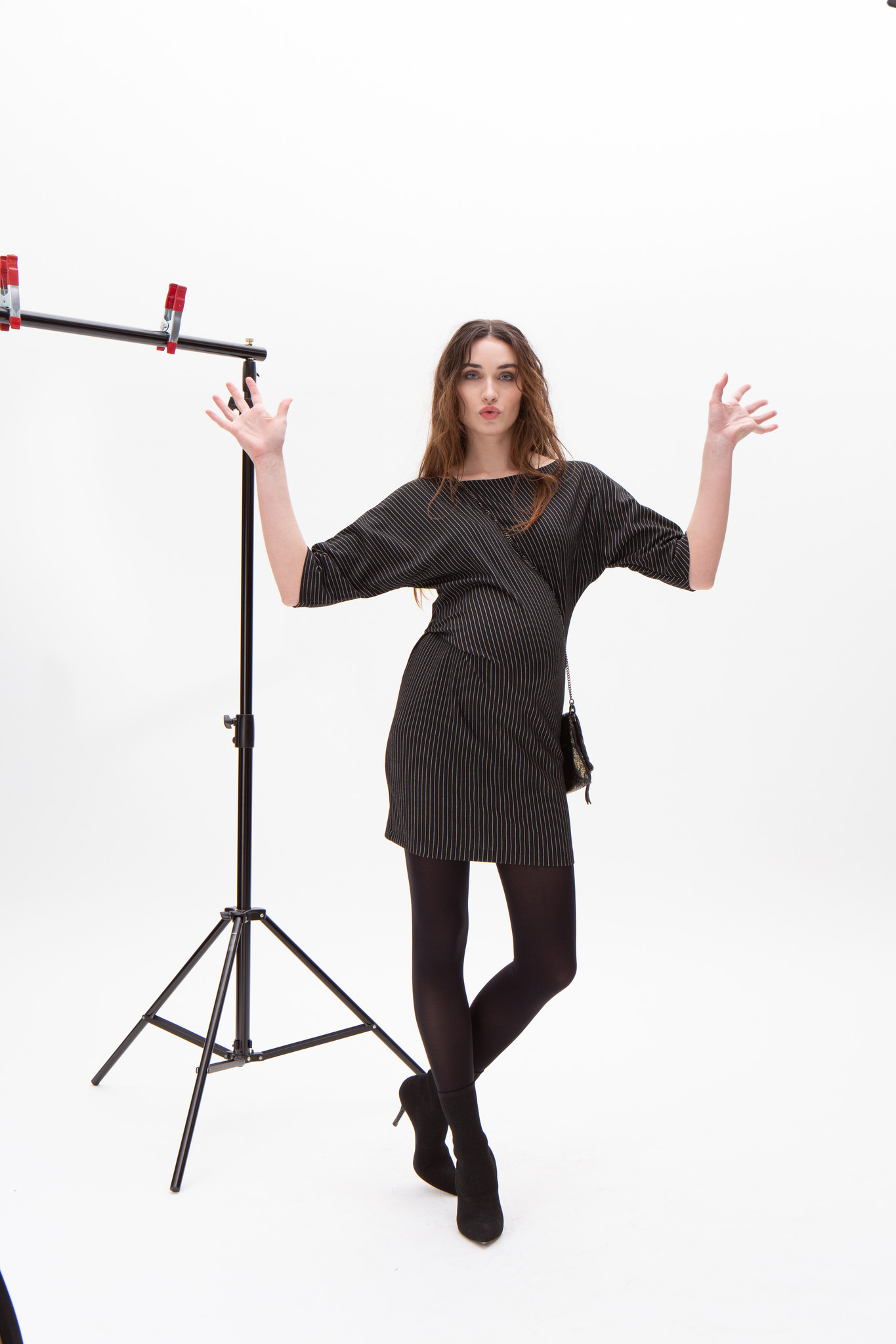 Hipster dress - black-1