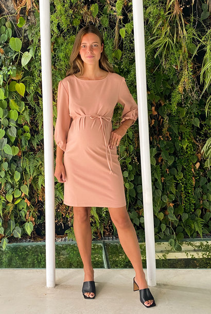Cute dress - soft salmon