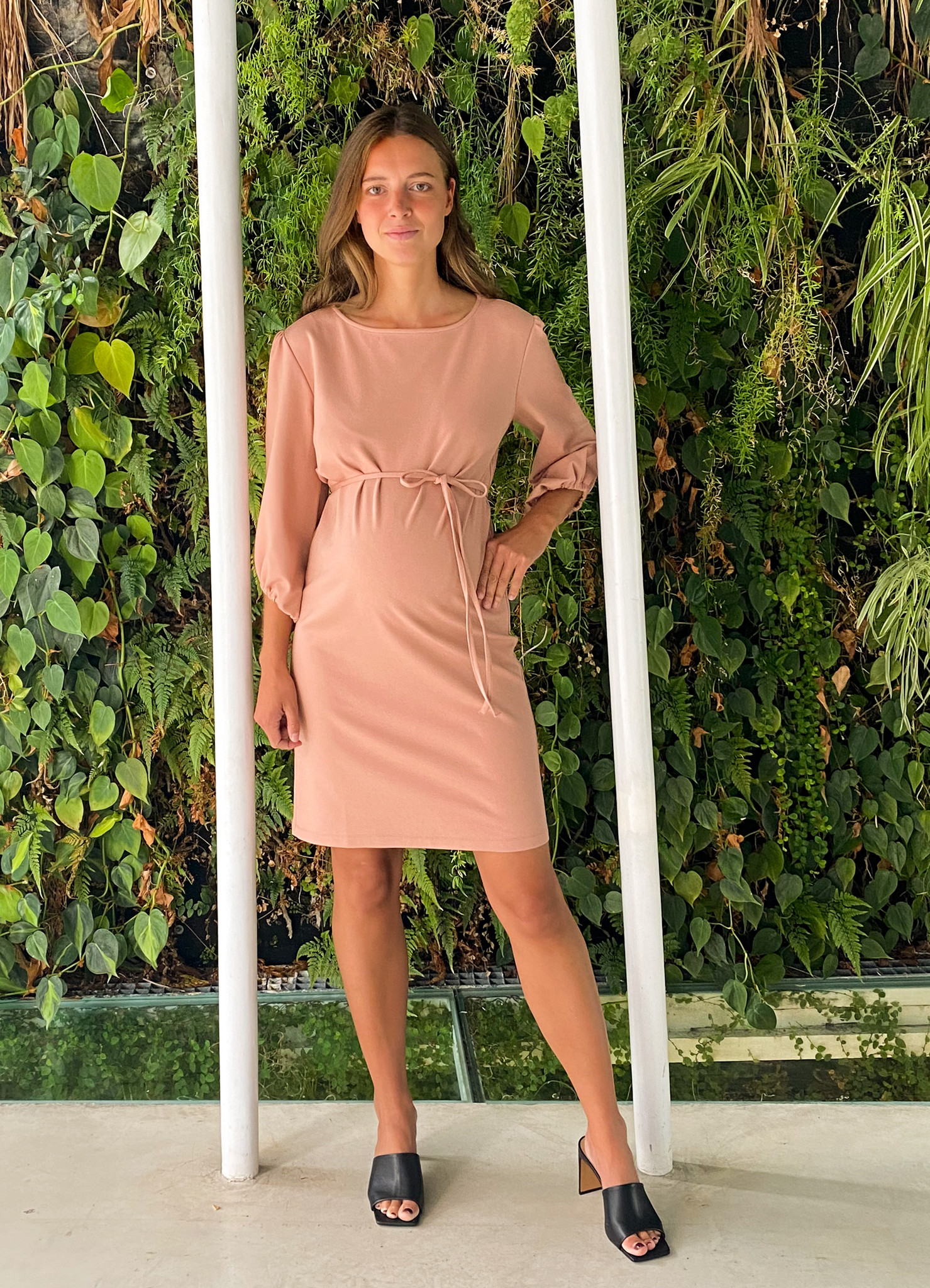 Cute dress - soft salmon-1