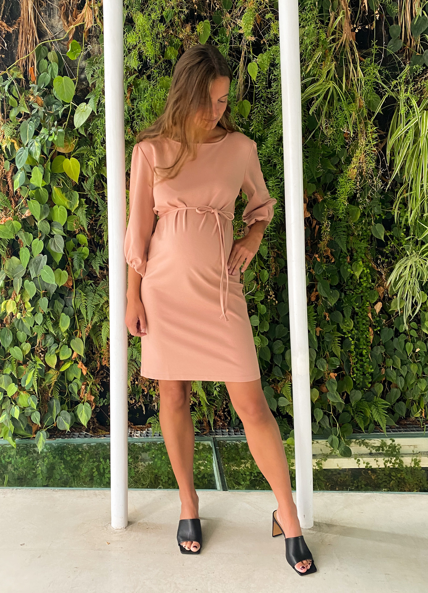 Cute dress - soft salmon-3
