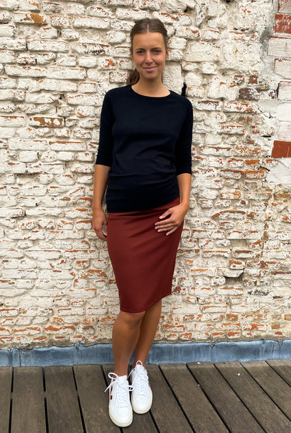 Pencil skirt - keramic