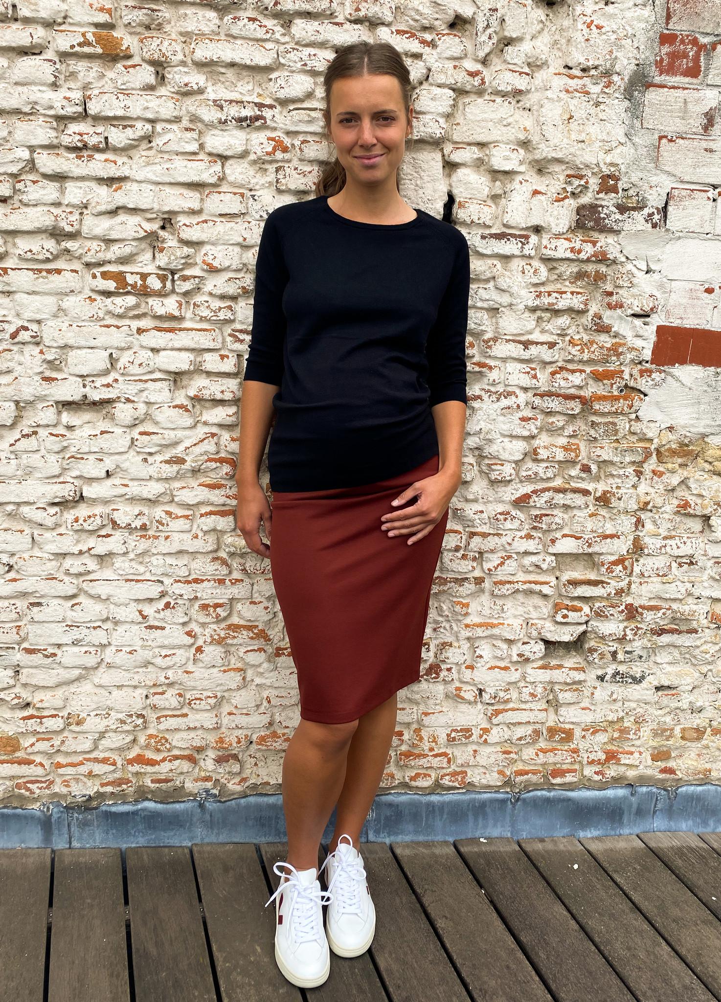 Pencil skirt - keramic-1