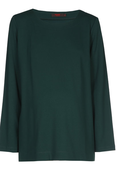 T-shirt long sleeves - dark green