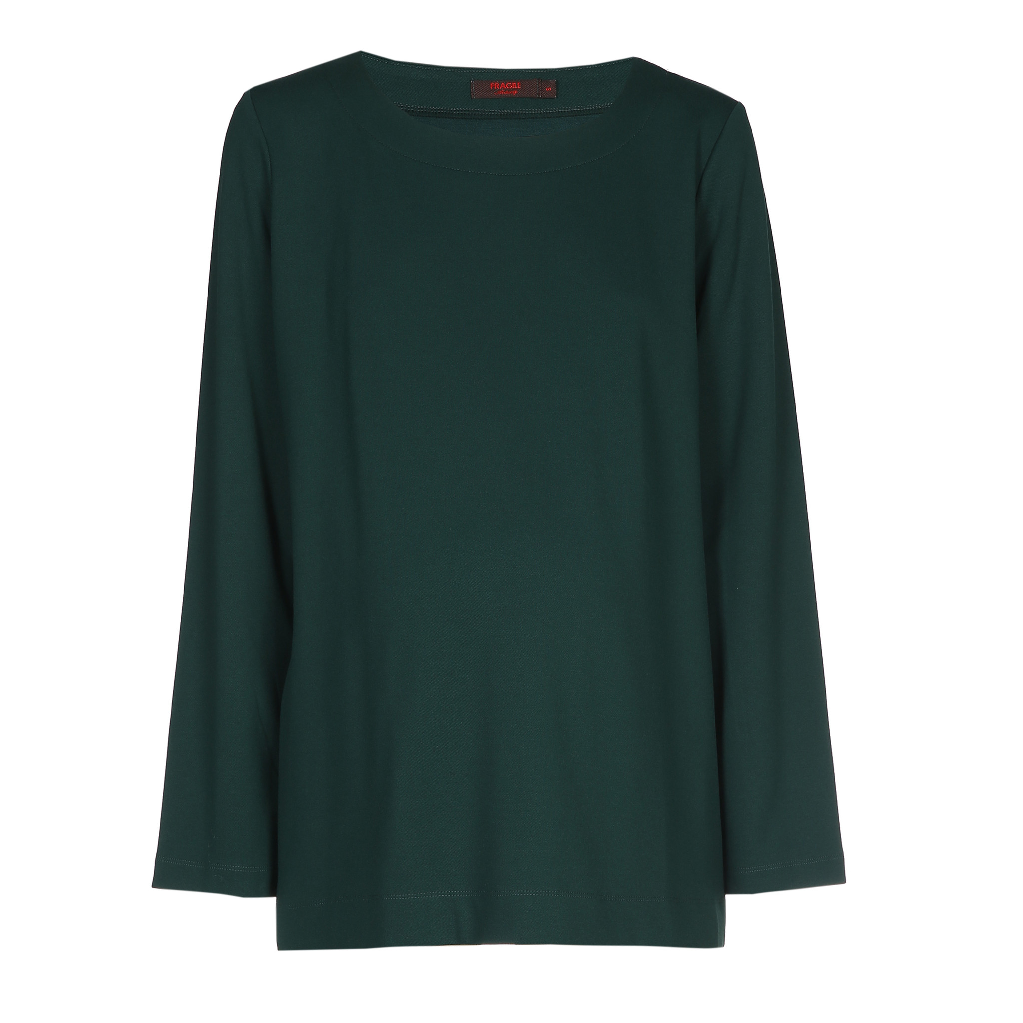 T-shirt long sleeves - dark green-1