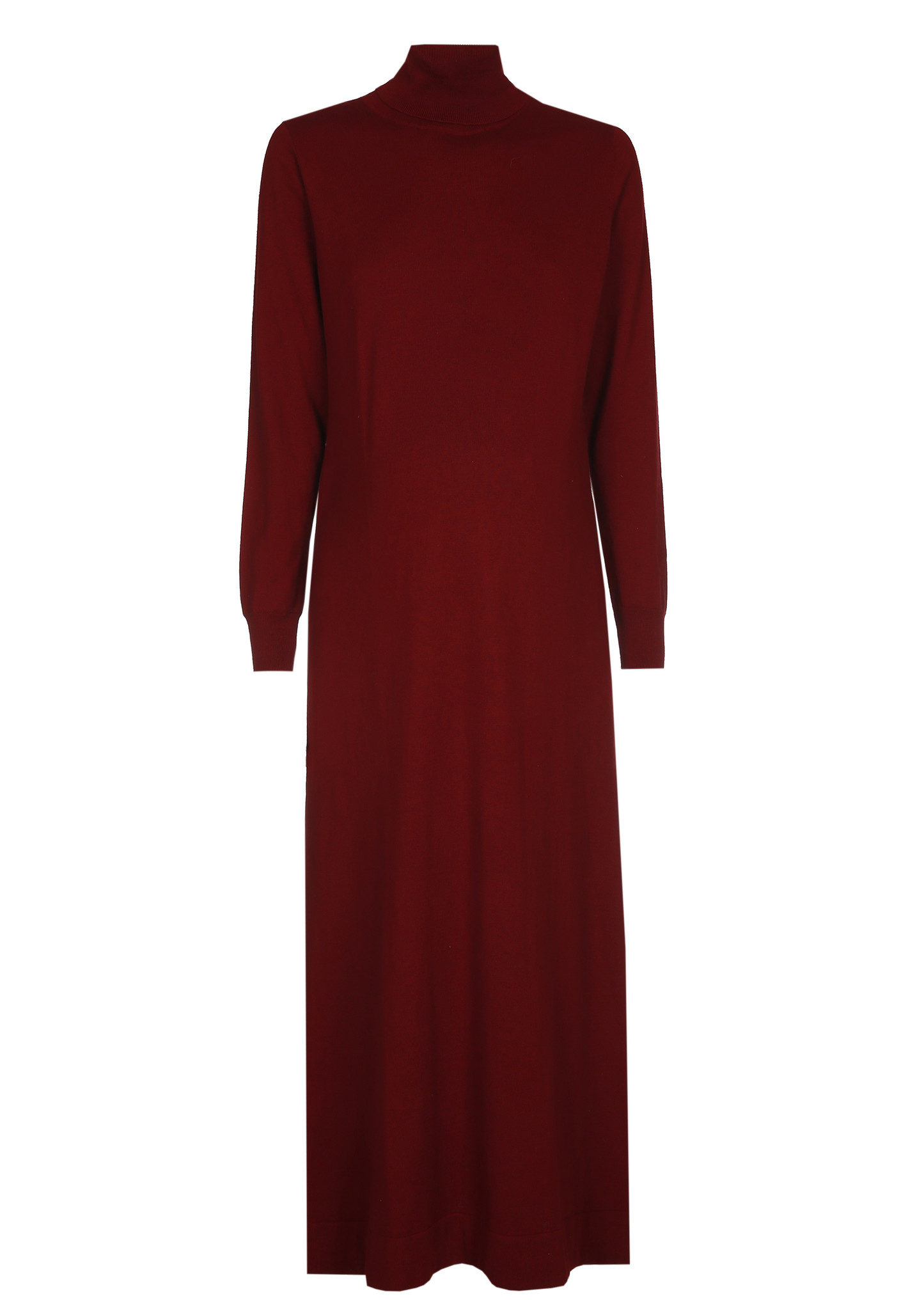 long knitted dress - amarone-4
