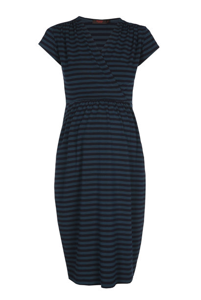 Comfy dress - petrol/navy