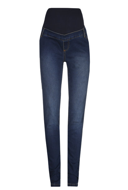 Skinny jeans - dark blue denim
