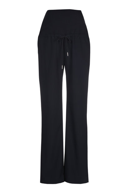 Relaxed trousers - navy