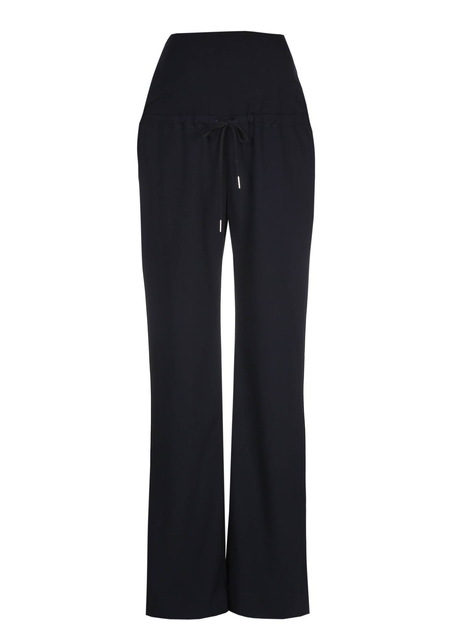 Relaxed trousers - navy-1