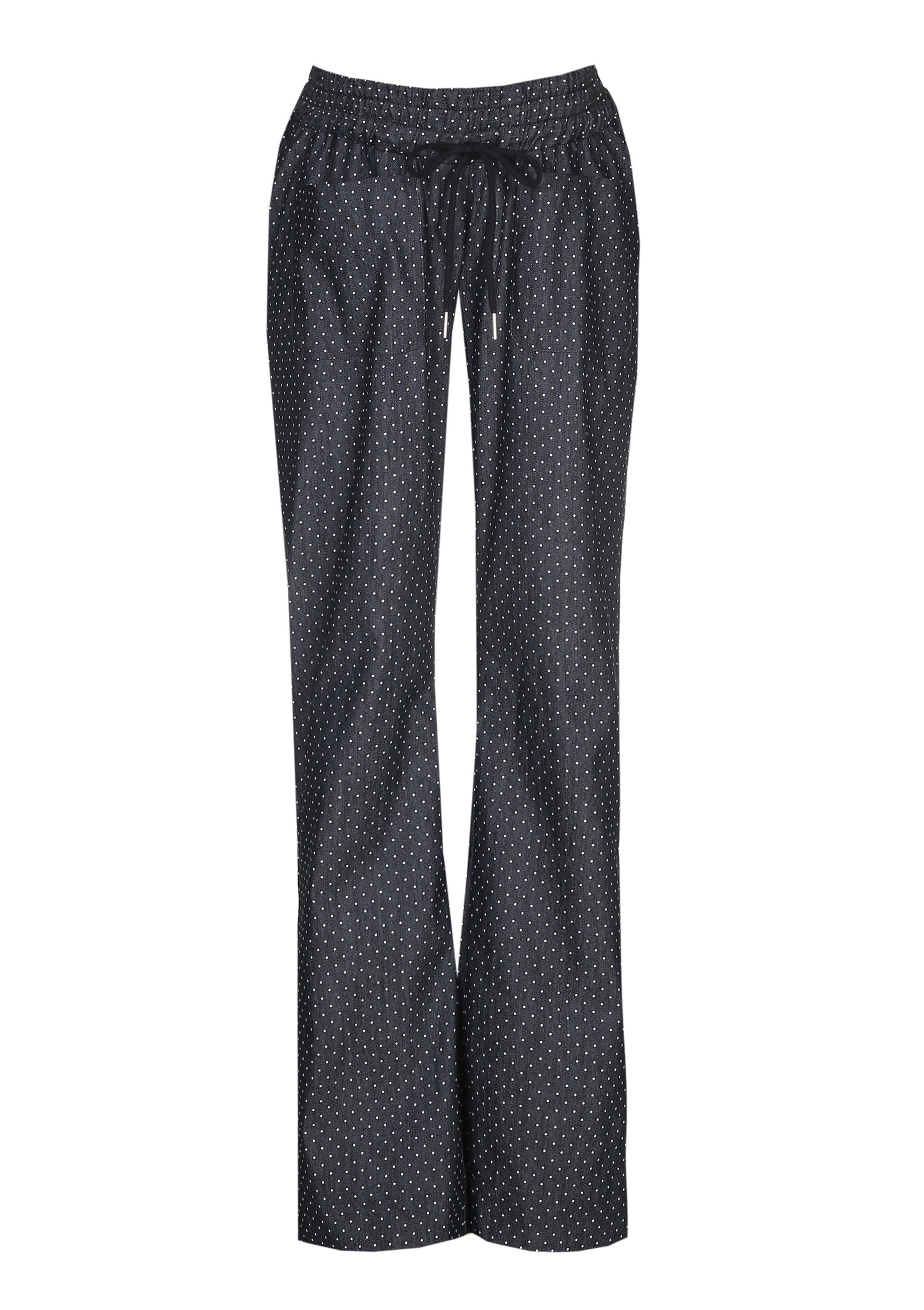 easy pocket trousers - small patterns blue-2