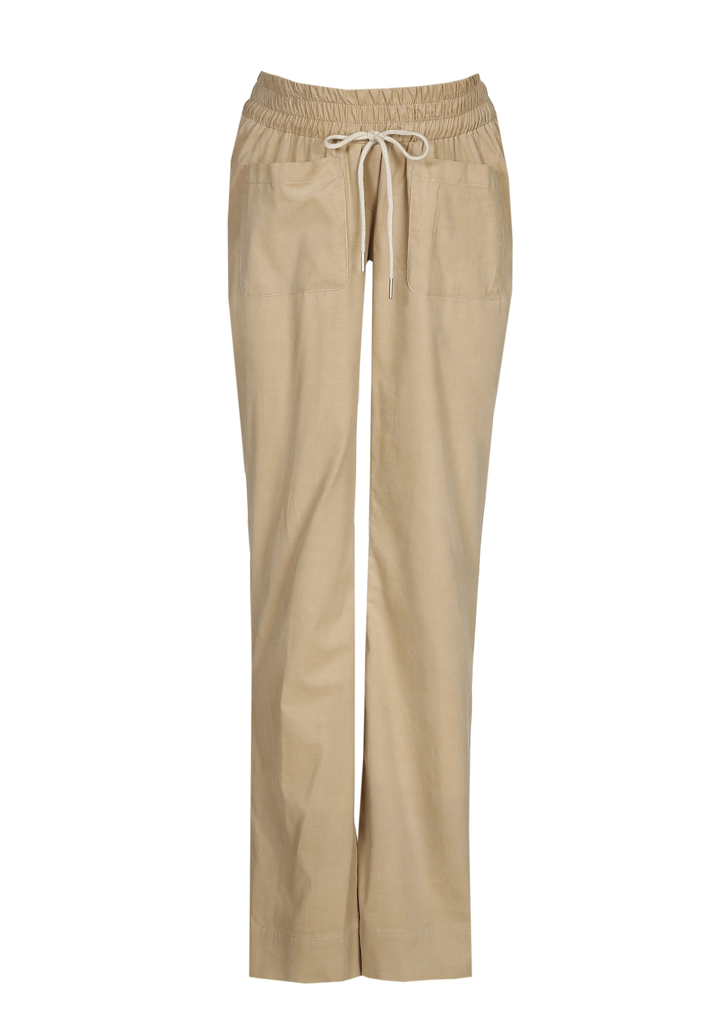 easy pocket trousers - sand babycord-2