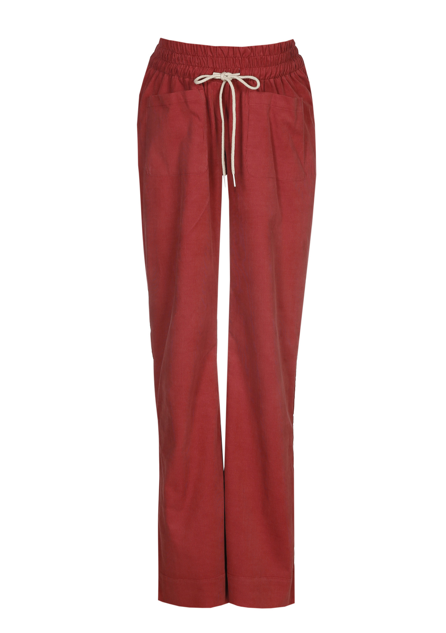 easy pocket trousers - hibiscus babycord-2