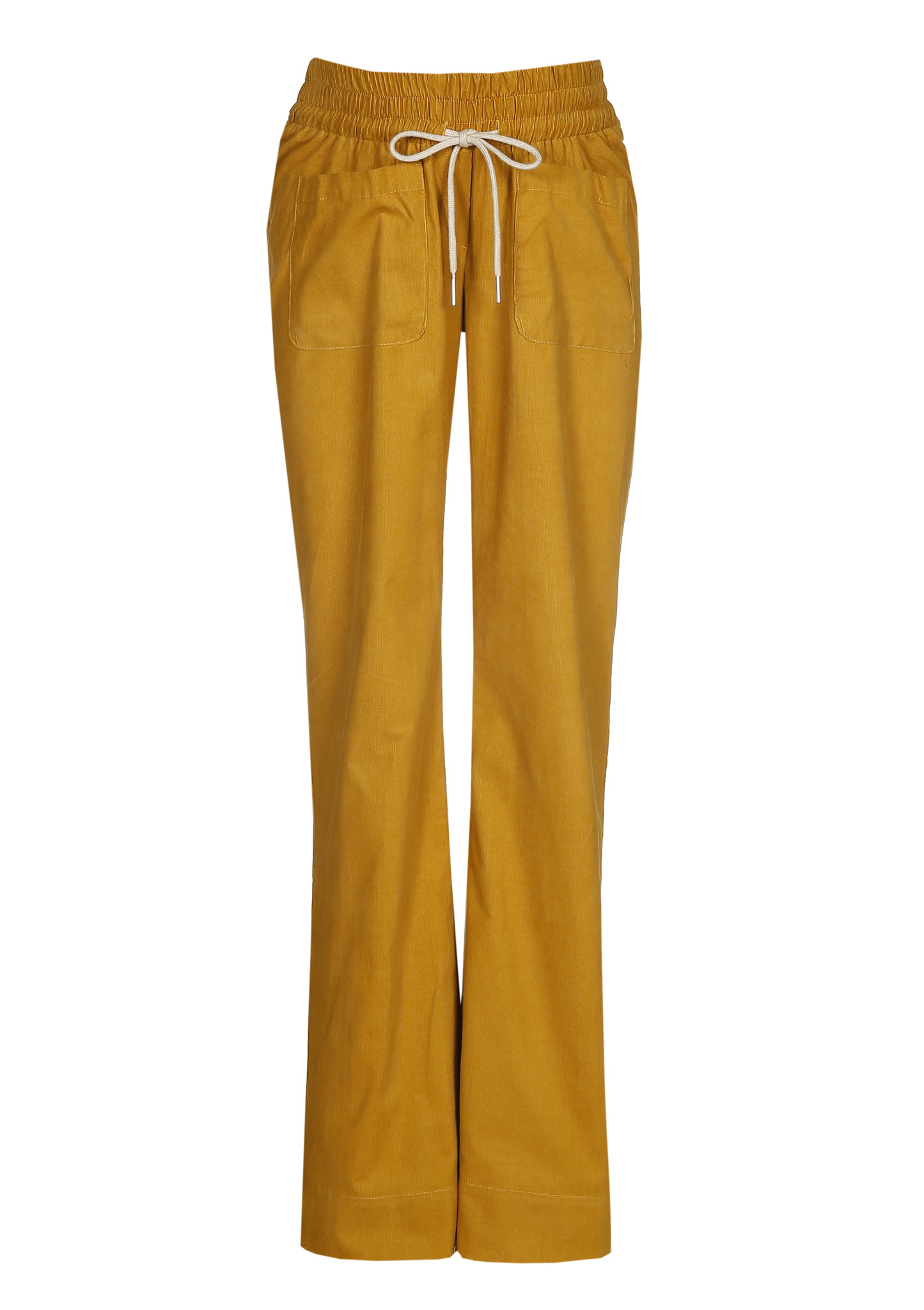 easy pocket trousers - mustard babycord-2