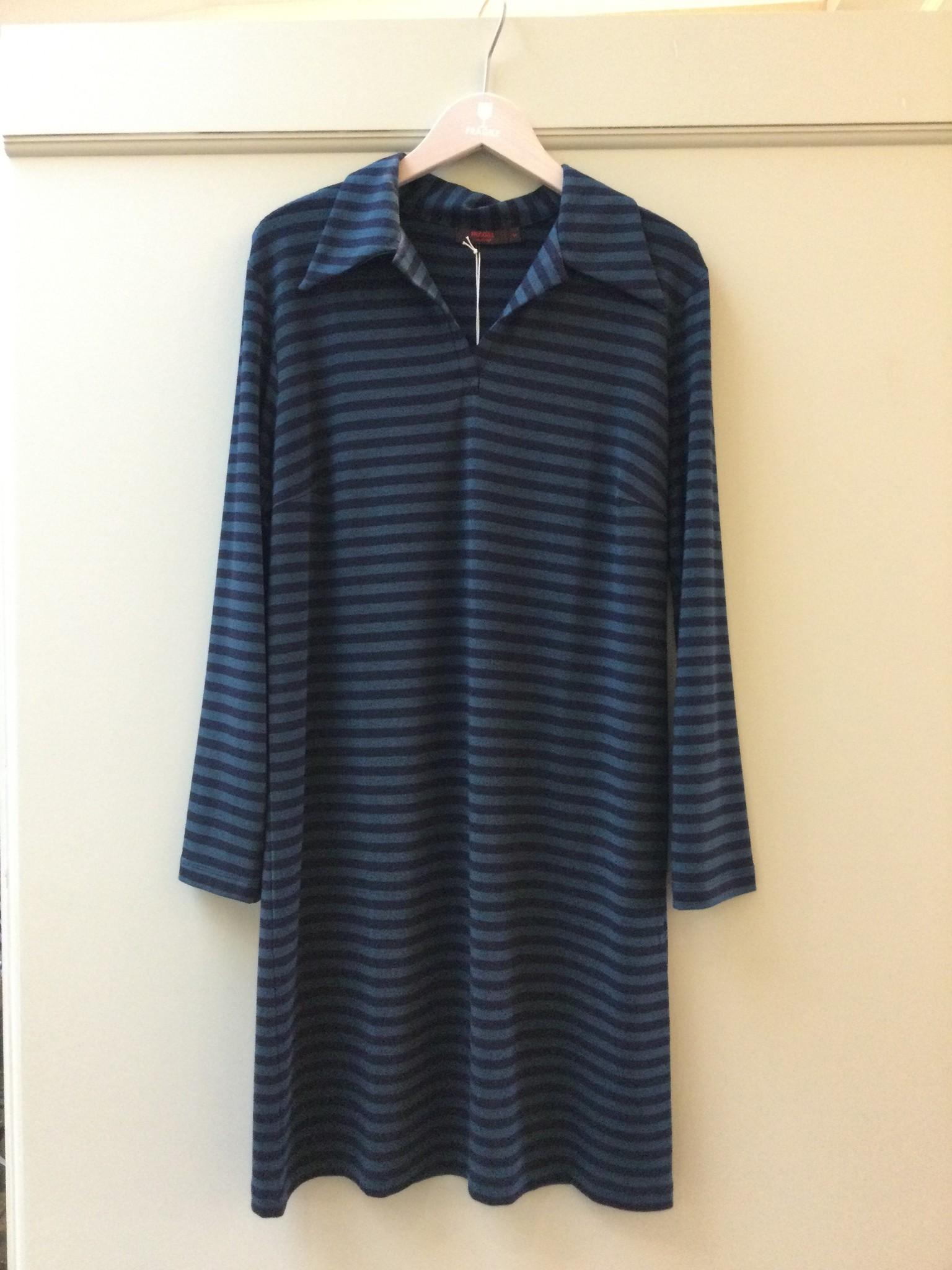 Polo dress - petrol/navy-2