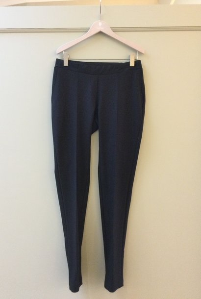 Easy trousers straight fit - black twill