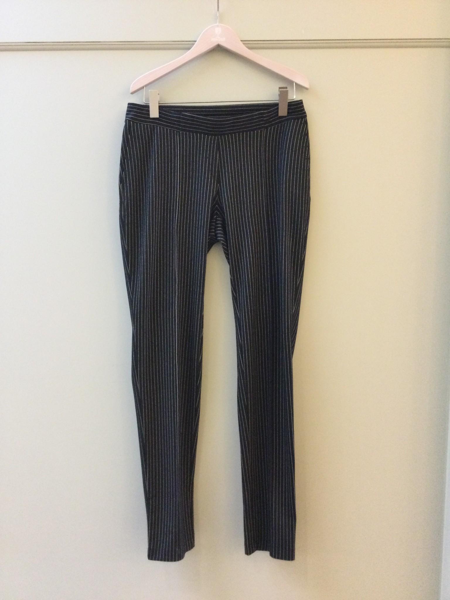 Easy trousers slim fit - black milano-2