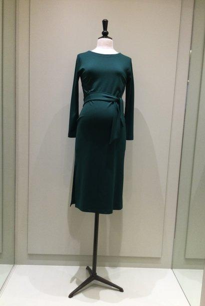 Classy dress - dark green