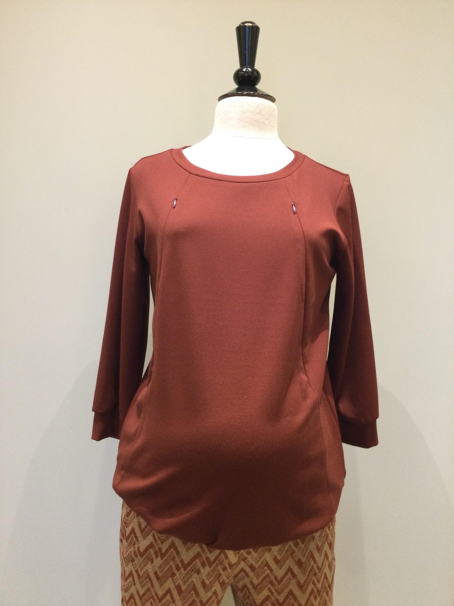Zip sweater - keramic-1