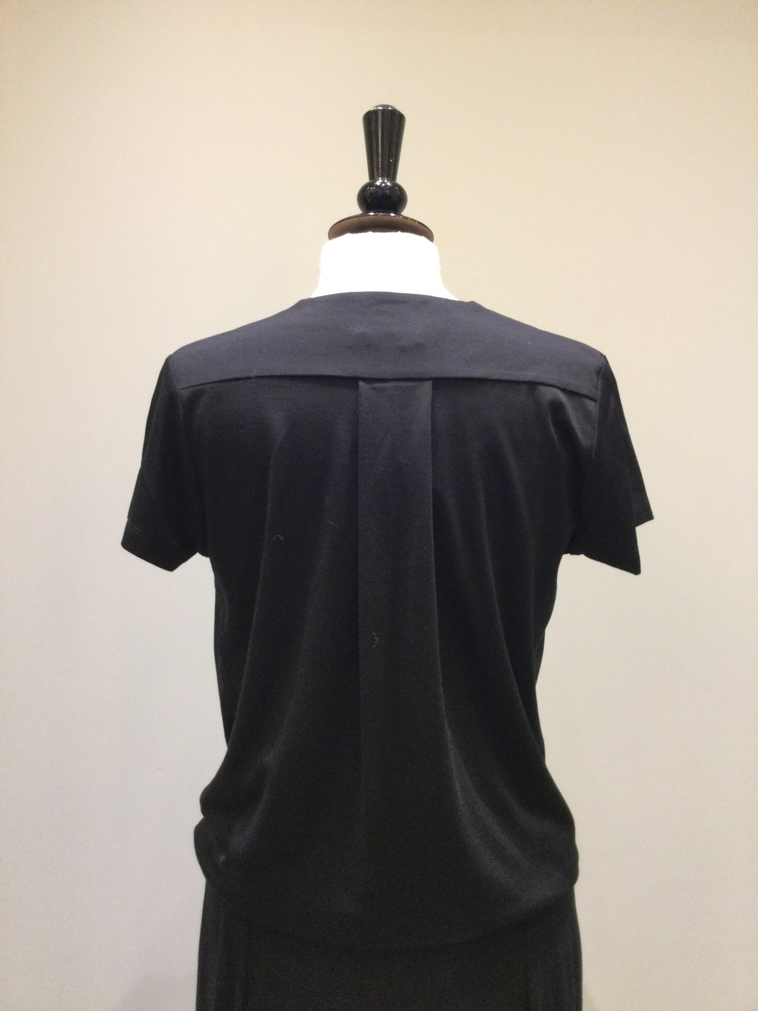 overcross tshirt - black-2