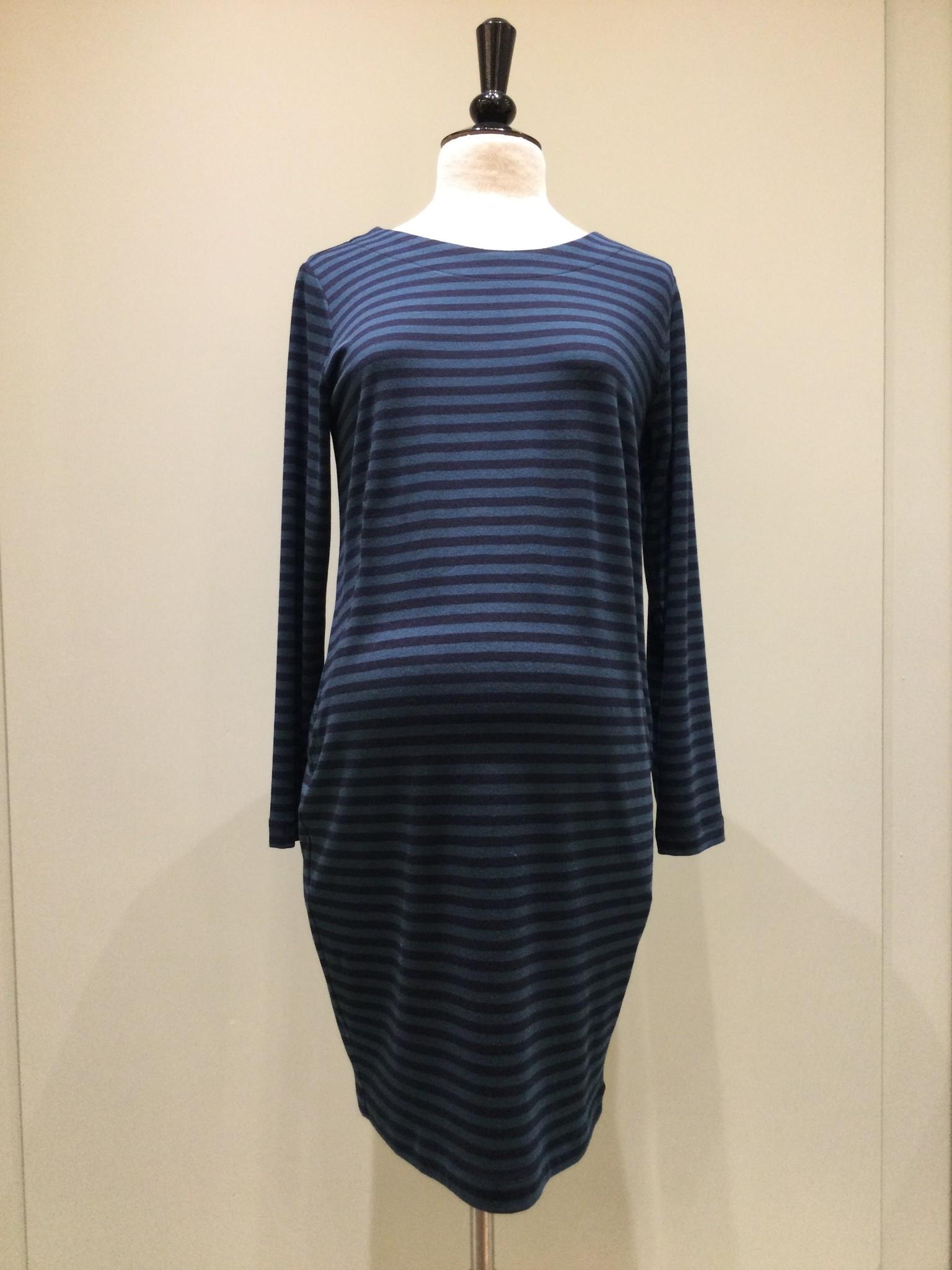 Soft dress - petrol/navy-1