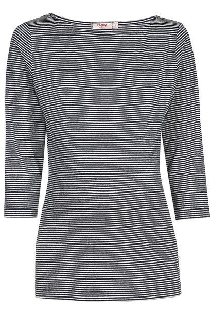 Striped Shirt Navy Stripes