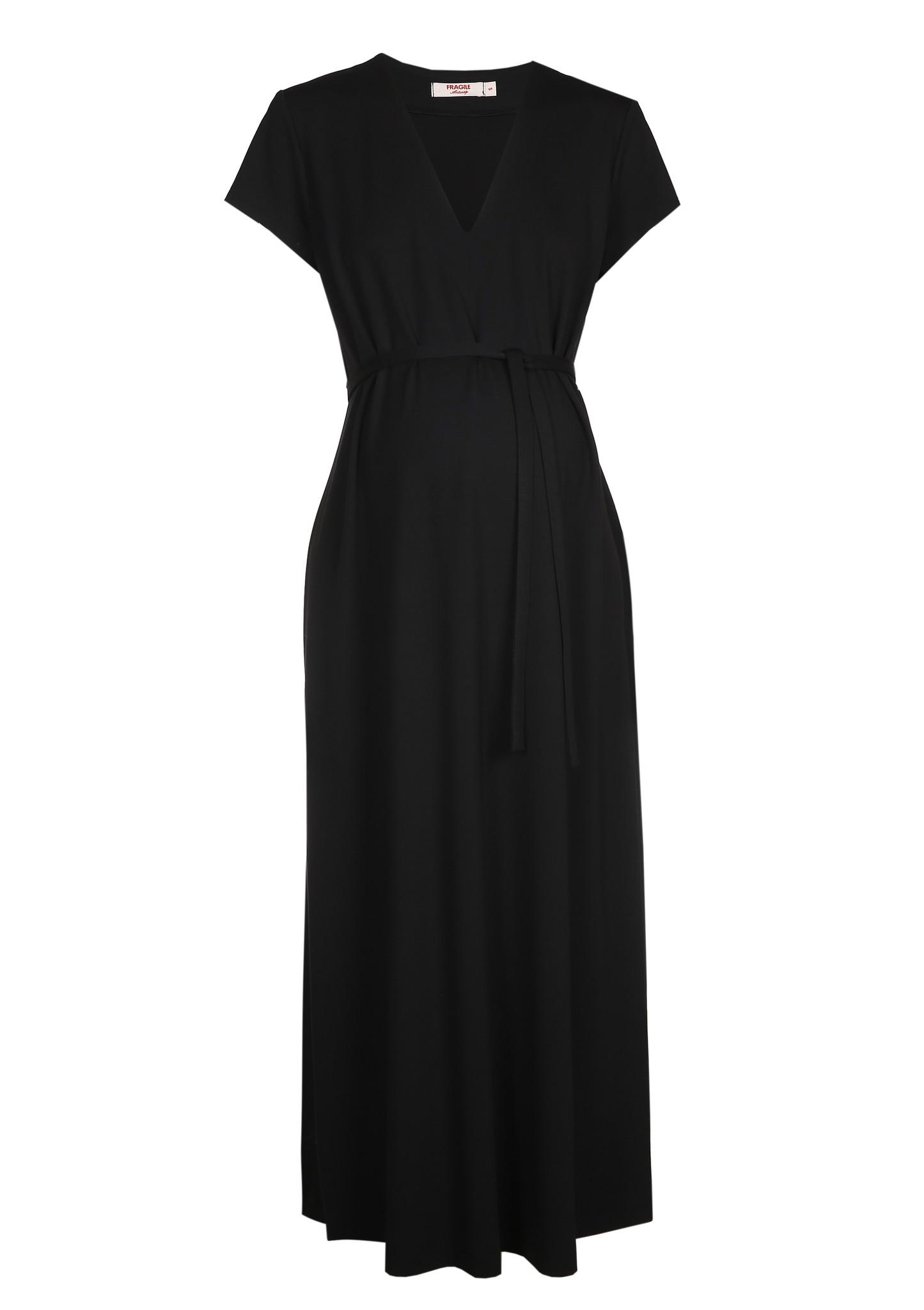 A-Line Dress Black-5