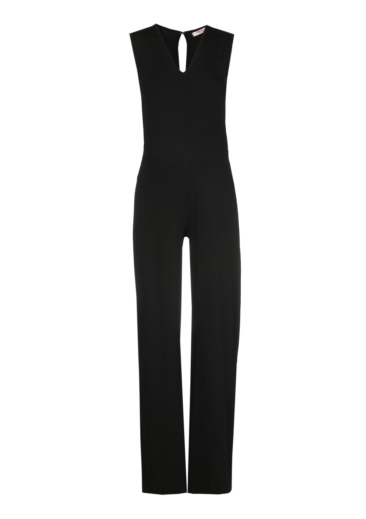 Long Jumpsuit Black-5