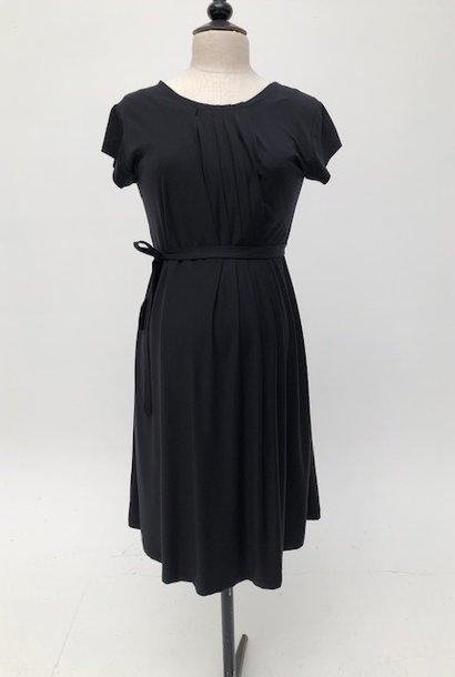 Pleated Dress Black