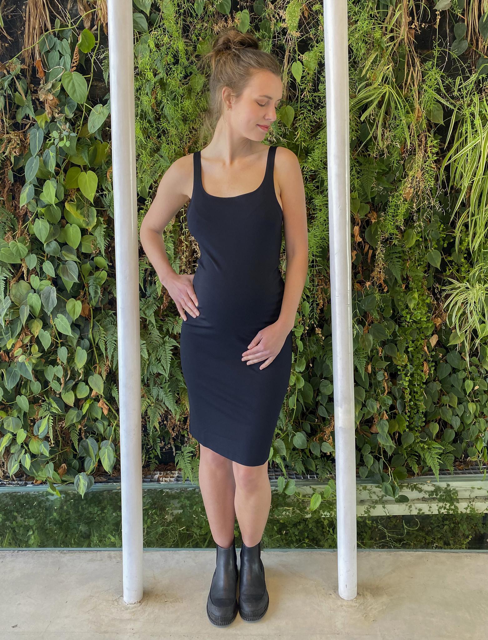 Summer Dress Black-1